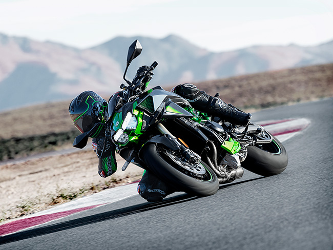 kawaski z h2 se speed