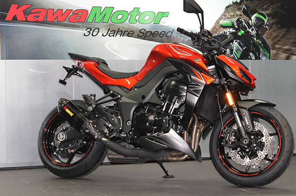 KawaMotor Kawasakki Z1000 Orange Dragon