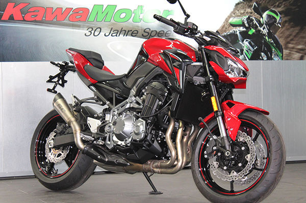 KawaMotor Kawasaki Z900 Dream Red