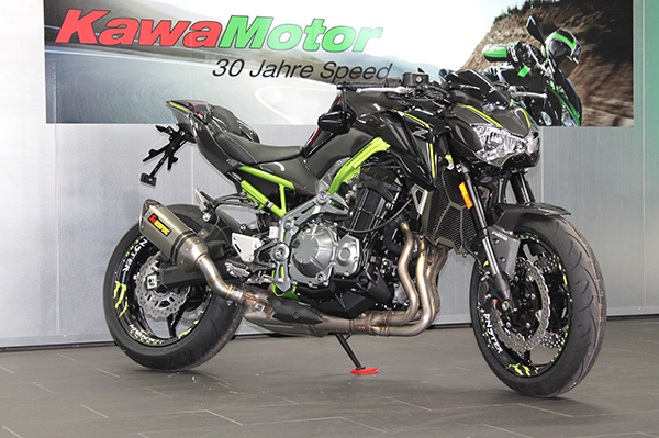 KawaMotor Kawasaki Z900 Grey Monster